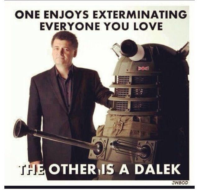 Moffat or Dalek
