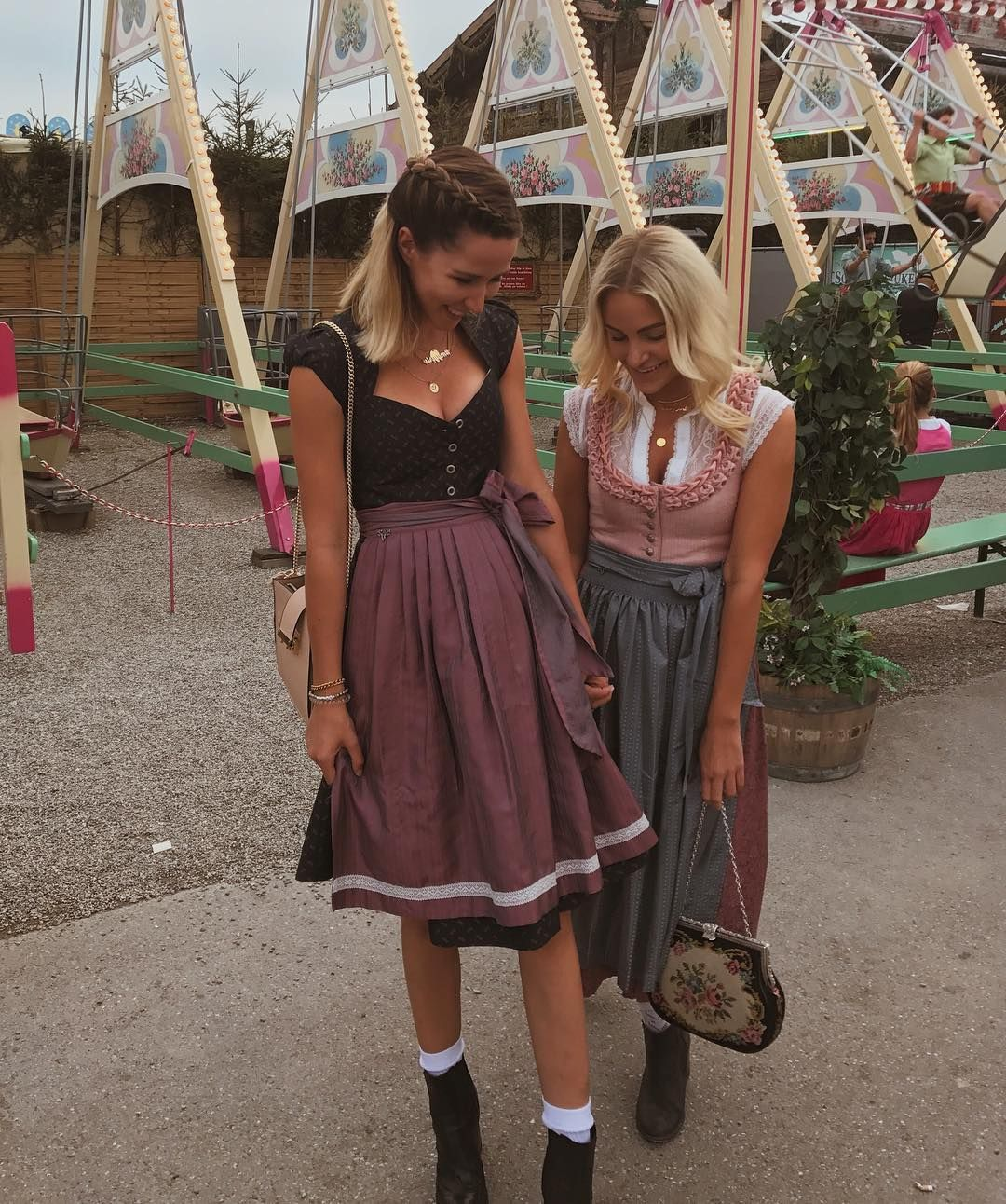 Photo of Lindarellade in CocoVero Dirnl Blum and sequinsophia in Dirndl Nele with blouse So …