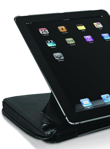 Custodia protettiva premium con stand ed organizer per iPad 2 – Nera (CONFEZIONE ROVINATA) prezzo 24.99€