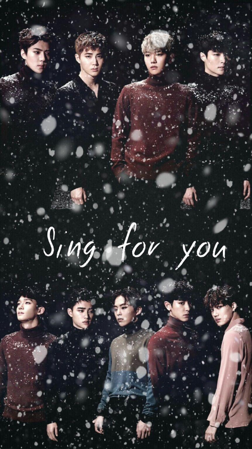 Exo Sing For You Wallpaper Exo Lyrics Pinterest Exo Exo Sing