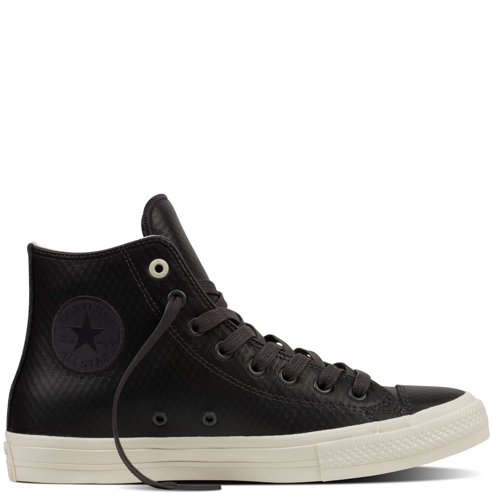 Chuck Taylor All Star II Mesh Back Leather Almost Black