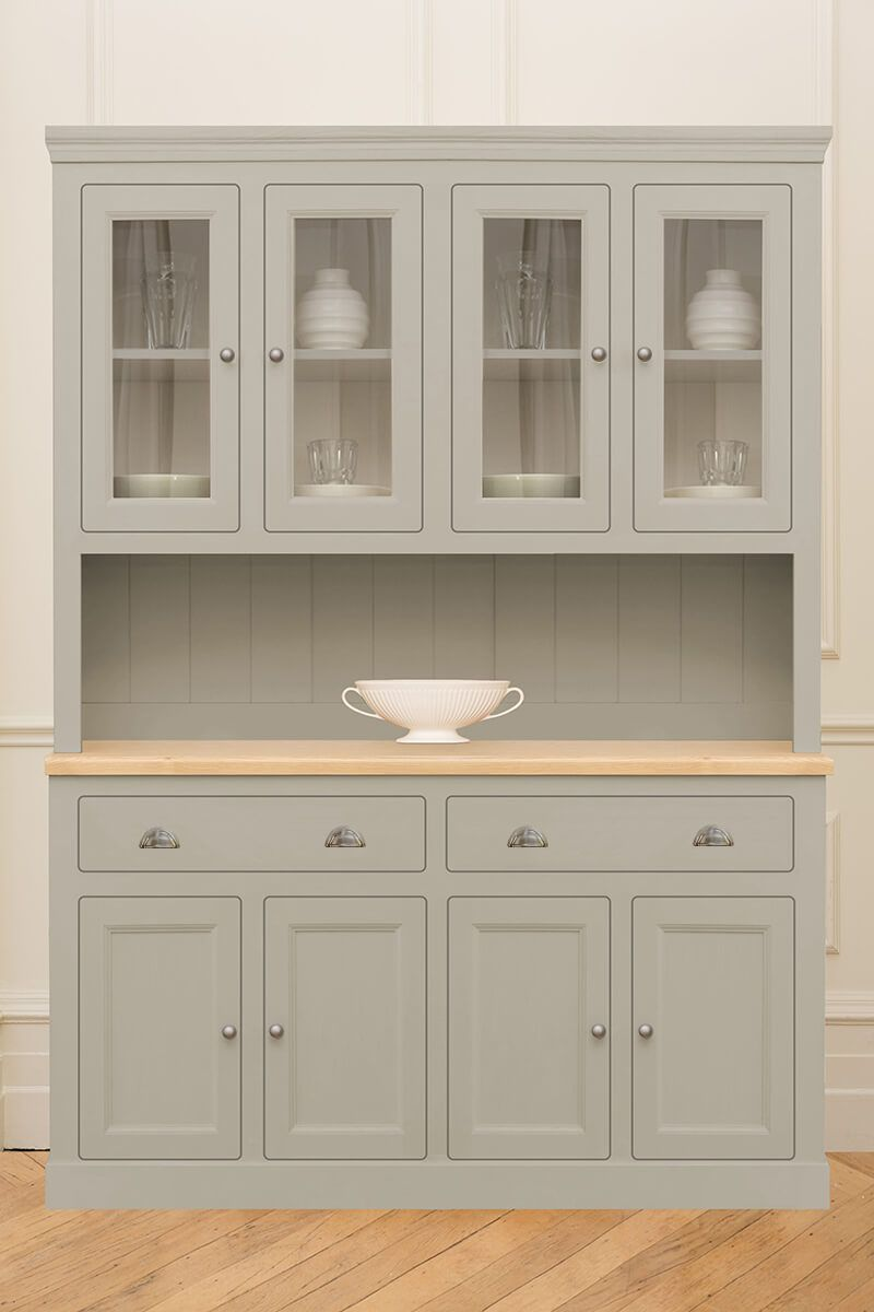 Download Wallpaper White Kitchen Dresser Uk