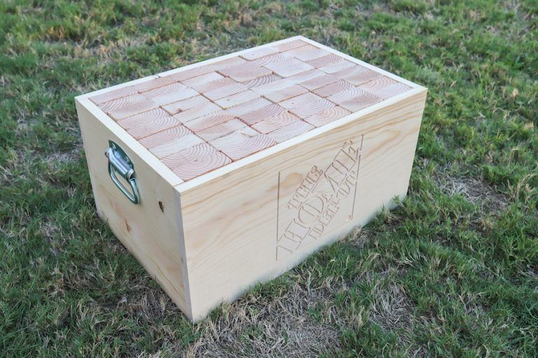 DIY Giant Jenga Yard Game | Jenga diy, Diy yard games ...