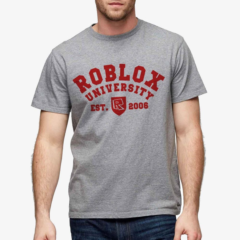 Black t shirt roblox - Roblox Roblox University Adult T Shirt Roblox