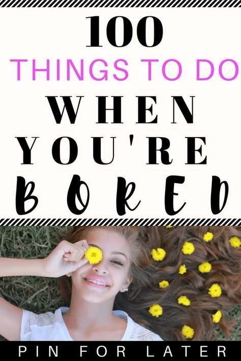 Useful Things To Do When You're Bored - Radical Transformation Project