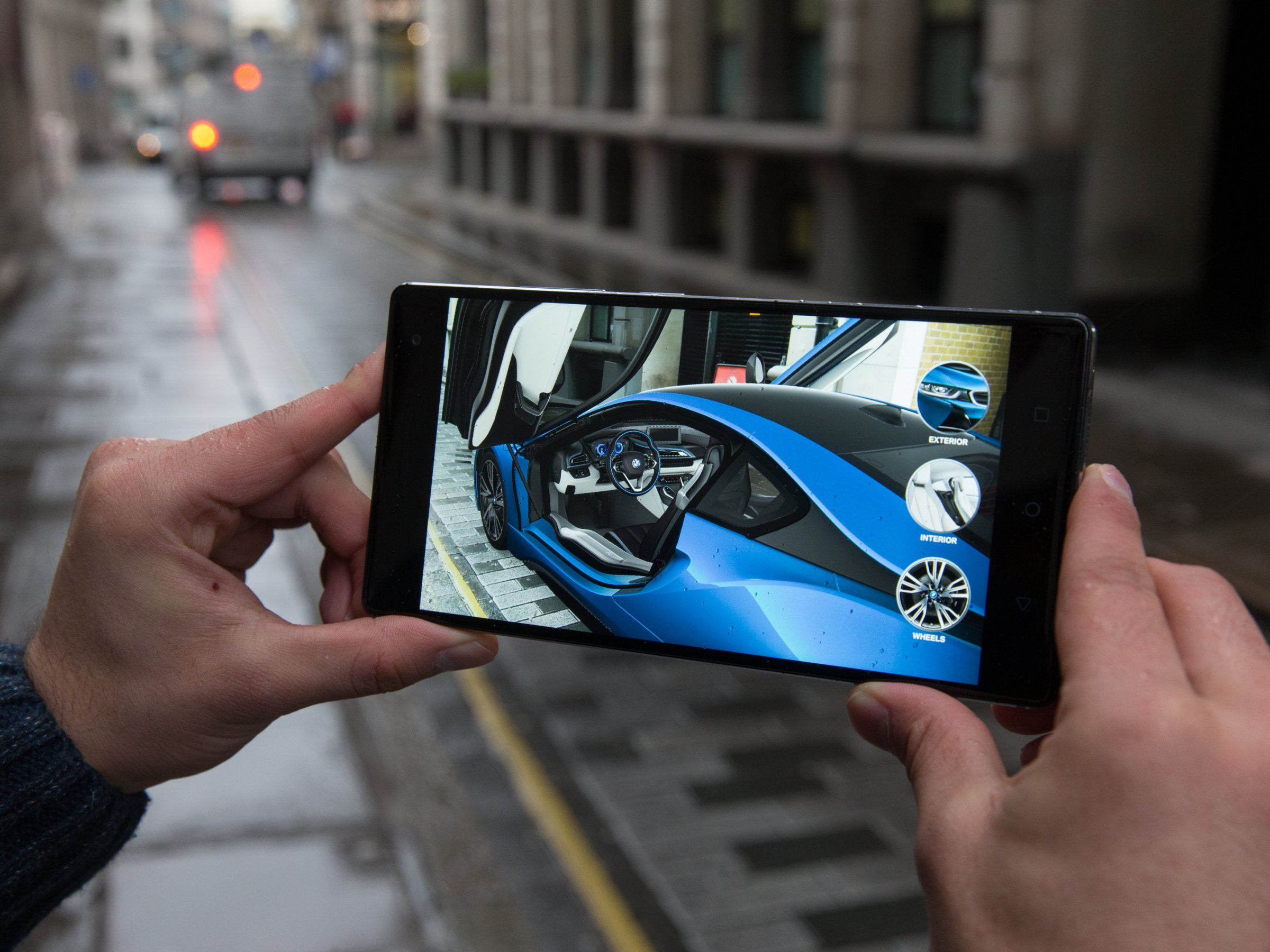 BMW hopes Google's augmented reality Tango technology will help it
