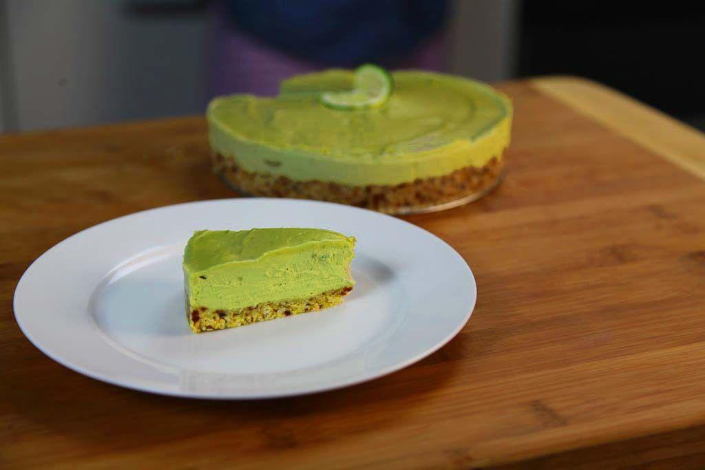 Raw Vegan Avocado Key Lime Pie Recipe The Edgy Veg Recipe Key Lime Pie Recipe Video Vegan Key Lime Pie Keylime Pie Recipe