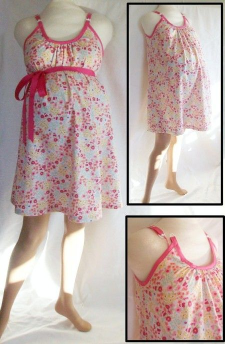 Hospital Gown Sewing Pattern Maternity You Old Sew And Sew