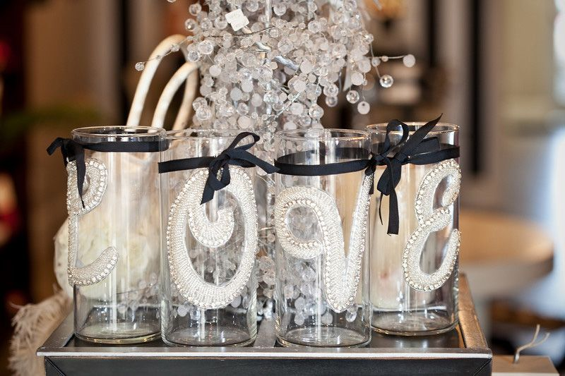 Wedding Decorations Bling Out Ideas Blinged
