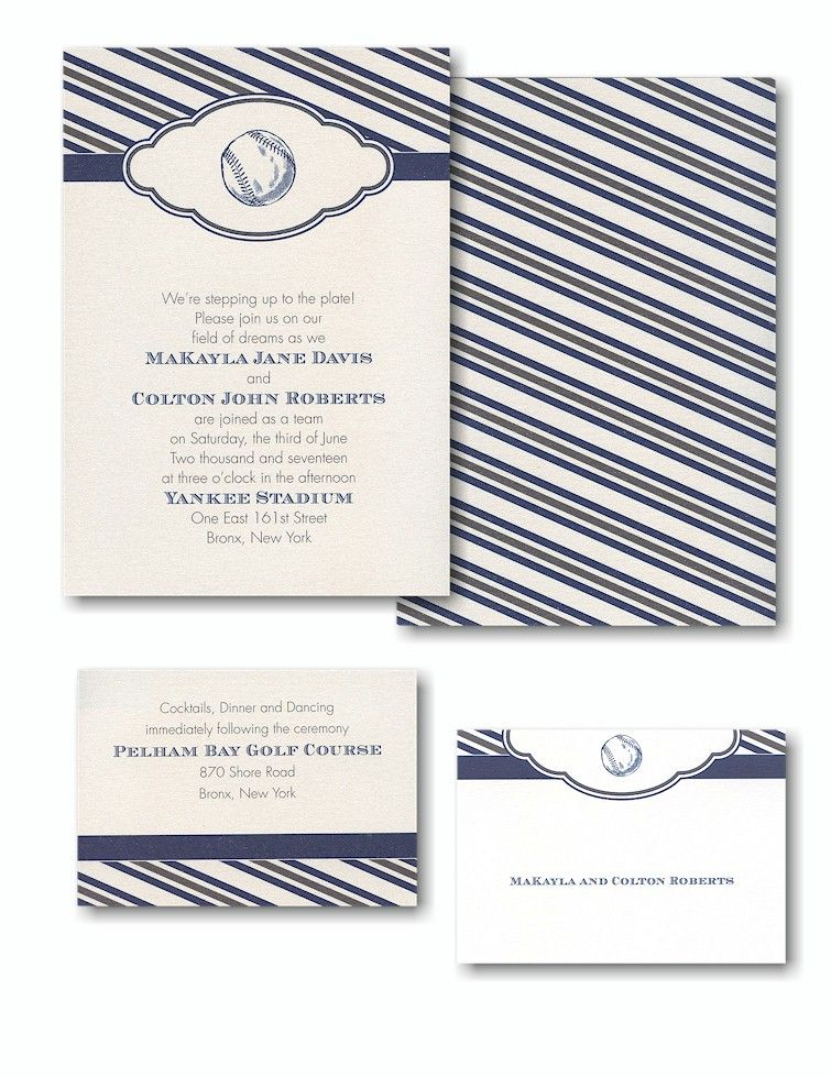 Invitation Wizard for Up To You Baseball Bar Mitzvah Invitation