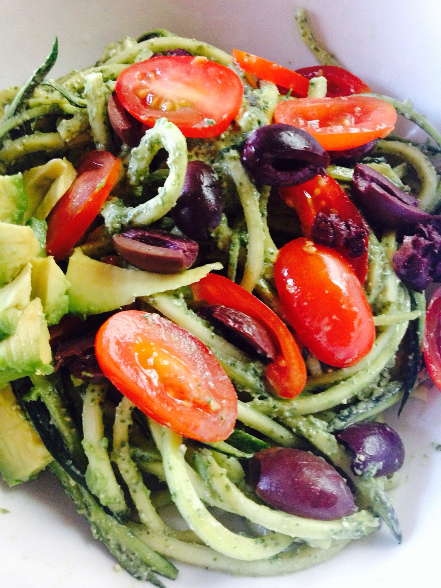 Vegan Italian dinner