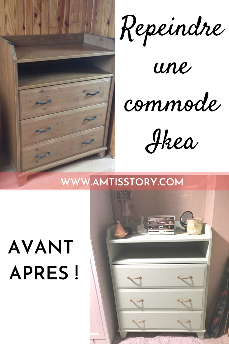 Repeindre Une Commode Ikea Avant Apres Avec Images Comment Repeindre Un Meuble Ikea Comment Repeindre Un Meuble Relooking De Mobilier