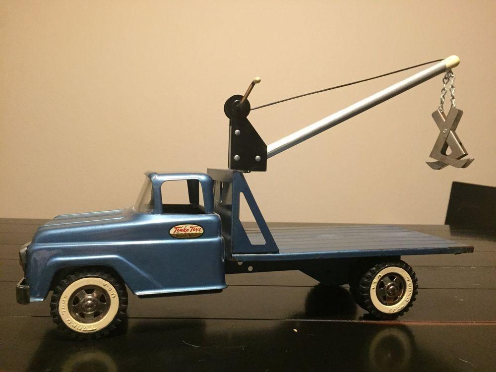 1960 Tonka Power Boom Rare Vintage Trucks Toys Tonkas