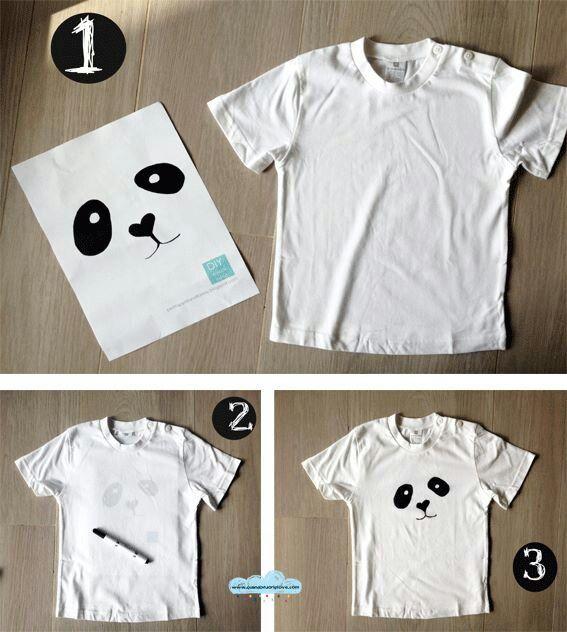 aad7b1130 Diy Adorable.. Will do this for Christmas :)   Diy fashion.   Panda ...