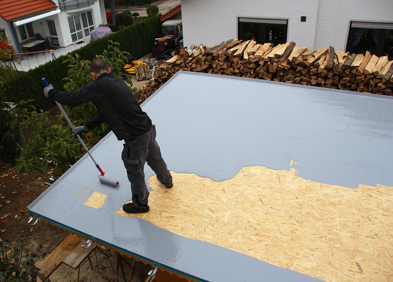 Terrasse Abdichten Bitumen Flachdach Abdichten Bitumen Flachdach