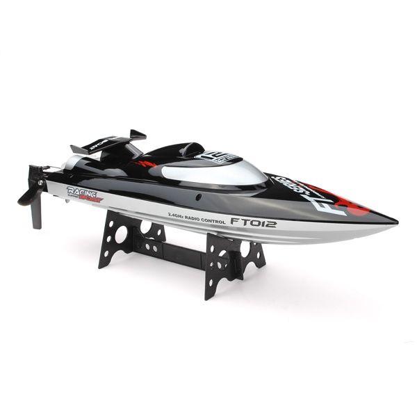 FT012 Upgraded FT009 2.4G Brushless RC Racing Boat Sale - Banggood.com