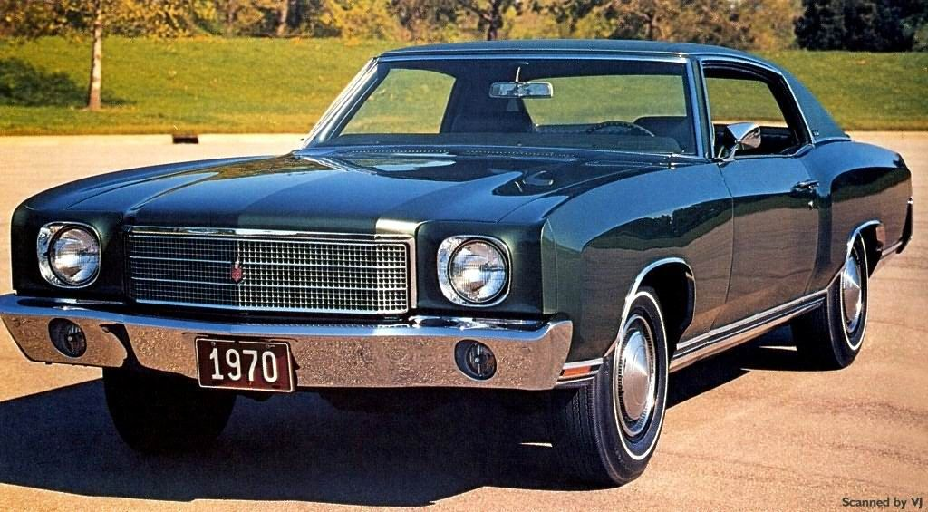 Chevy Monte Carlo 1970 1988 Chevrolet Monte Carlo Chevy Monte