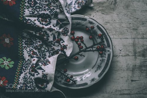 Colours by MesterTams  IFTTT 500px Colours art berries blue colors fine food living nature nice plate red table white