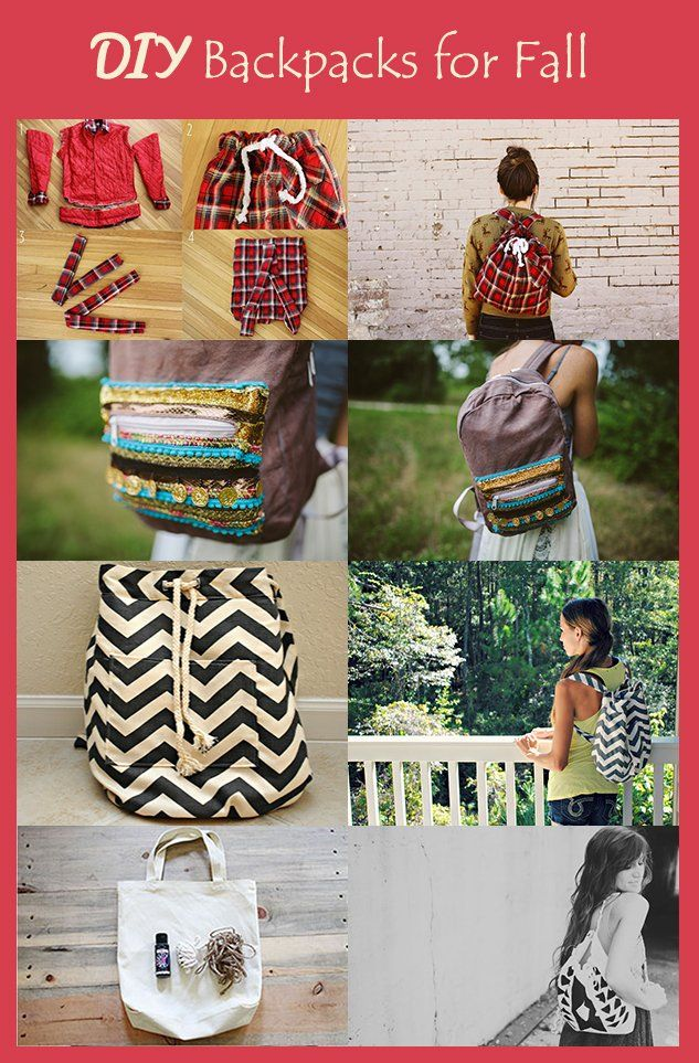 diy backpacks for fall customize your own backpack with these