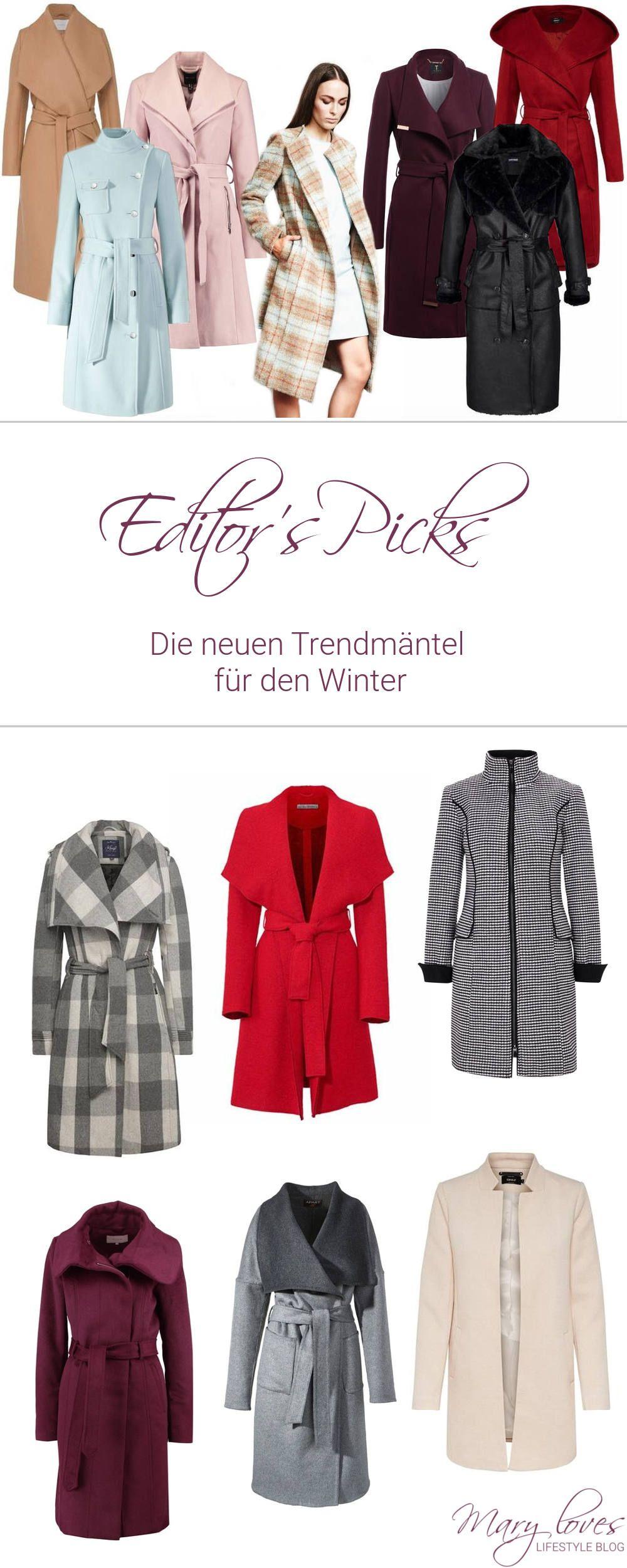 Das Sind Die Mantel Trends Winter 20172018 Fashion Herbstwinter