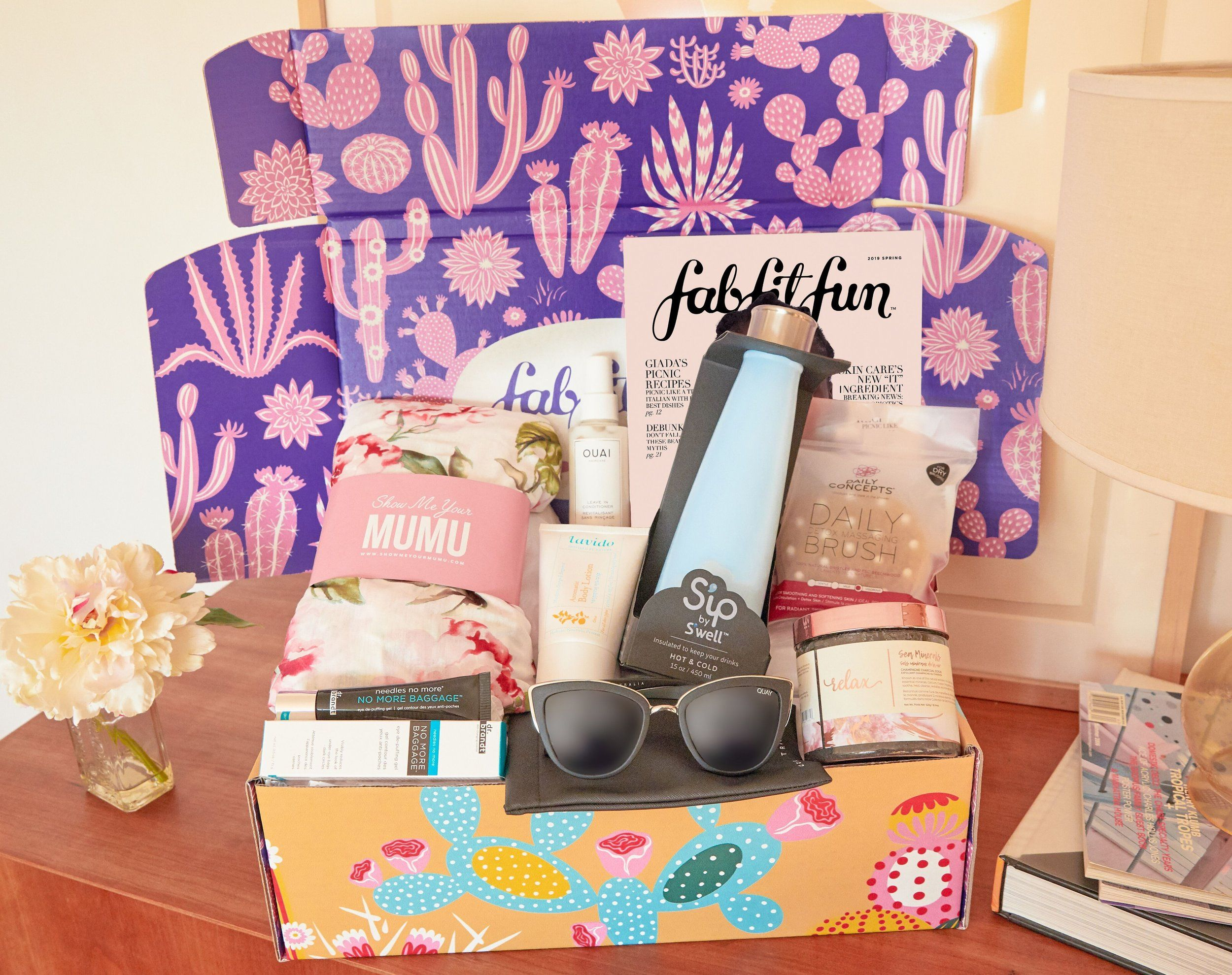 My Favorite Things Spring Edition Fab fit fun box, Fun