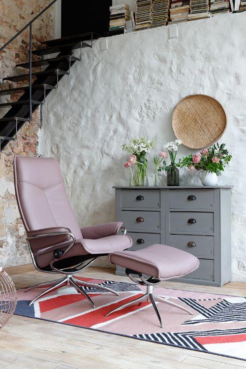 Perfekt Modernes Design Und Bewährter Komfort: Stressless Sessel City In Pastell.  #stressless #sessel #ekornes #einrichtung #wohnen #möbel | Stressless ...