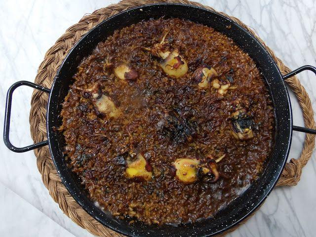 El placer del paladar arroz con sepionet platos cocina el placer del paladar arroz con sepionet forumfinder Image collections