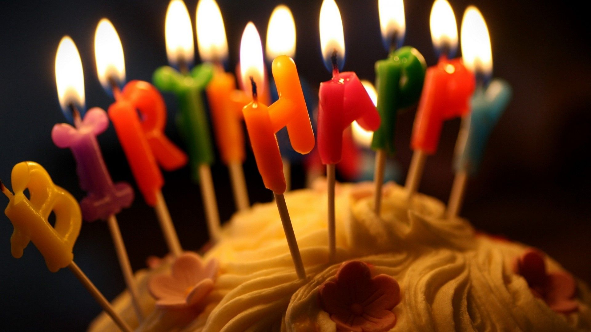 Birthday Candles Wallpaper And Background Happy Birthday Candles Birthday Cake With Candles Candles Wallpaper