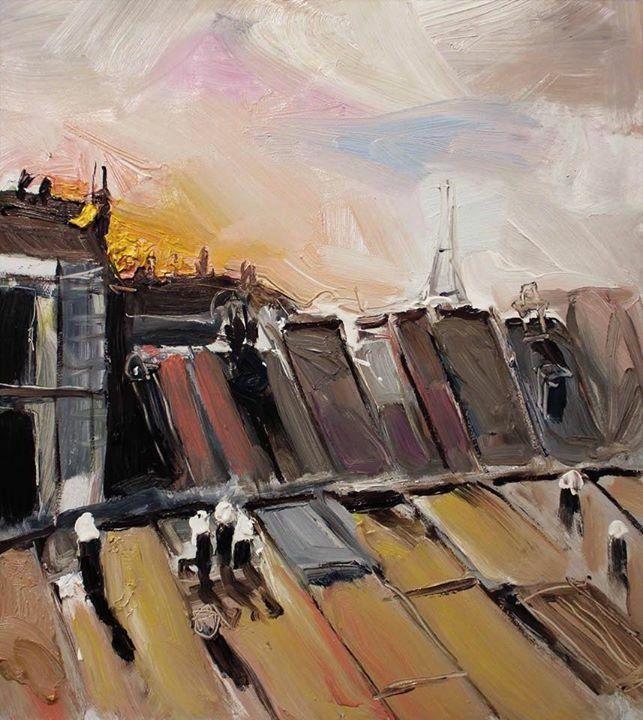 Richard Claremont Art And Inspiration Last Light On Paris