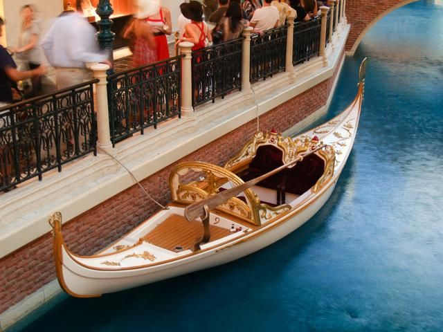The Venetian Wedding Gondola At Las Vegas 2007 Photos I