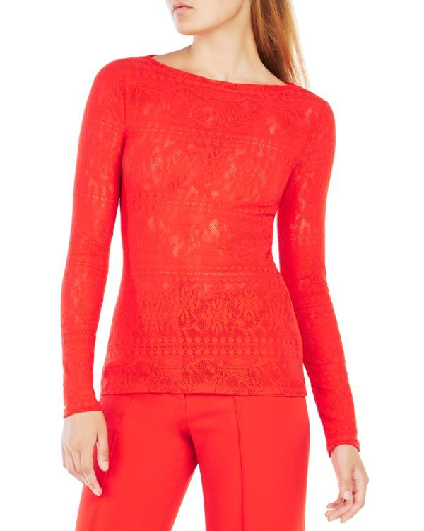 878f1f9c2f4233 Bcbgmaxazria Wylie Lace Top | Products | Tops, Lace tops, Lace
