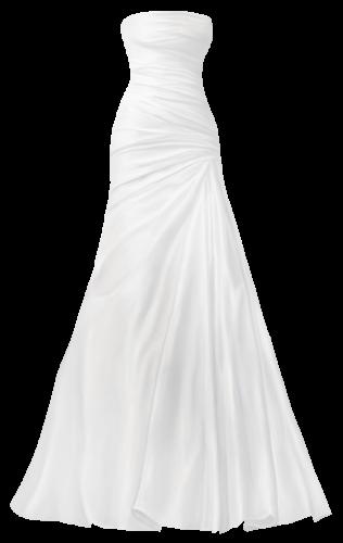 Classical Wedding Dress PNG Clip Art | Dress png, Wedding dresses, Clip art