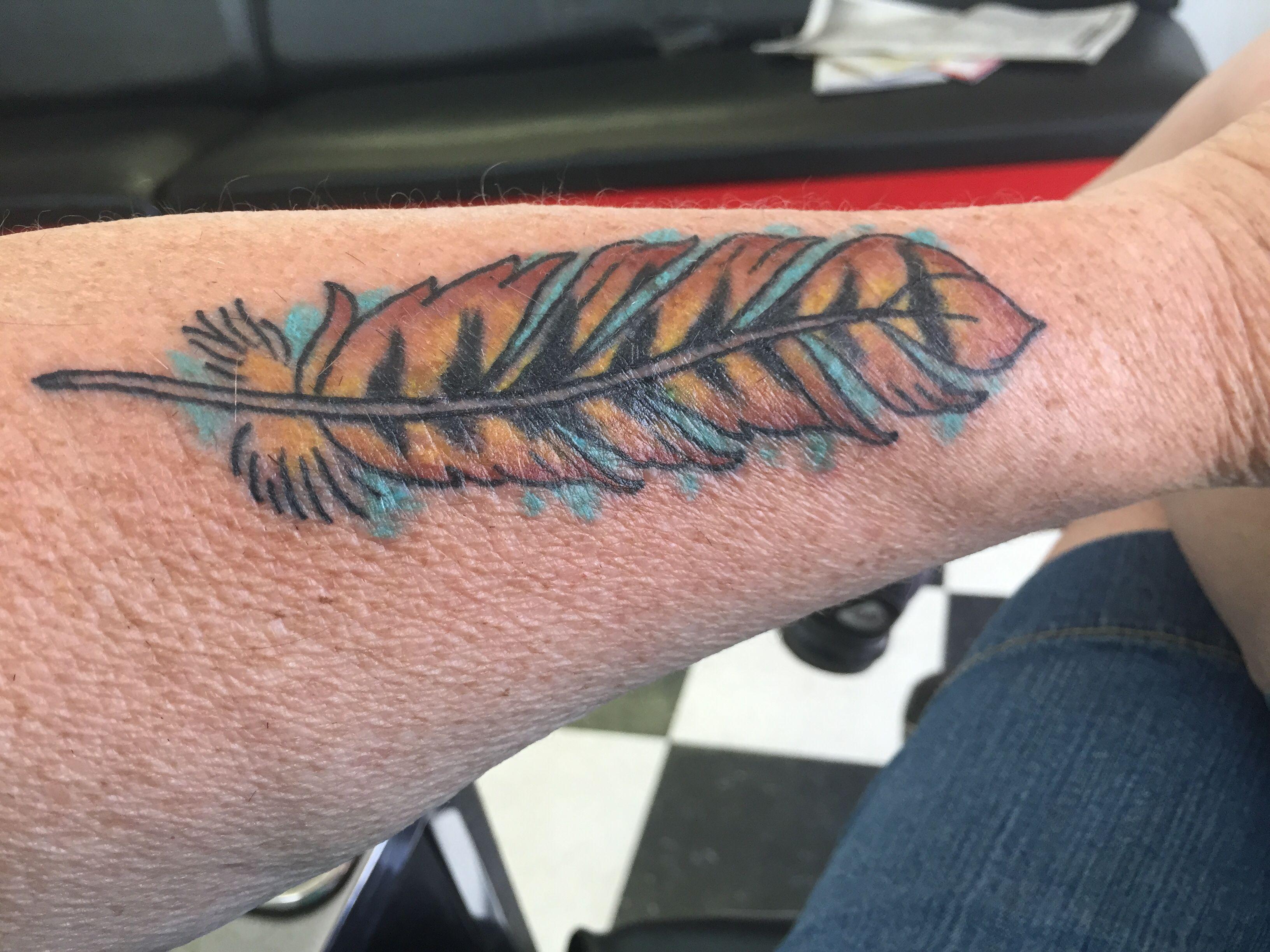 Hawk feather tattoous pinterest hawk feathers