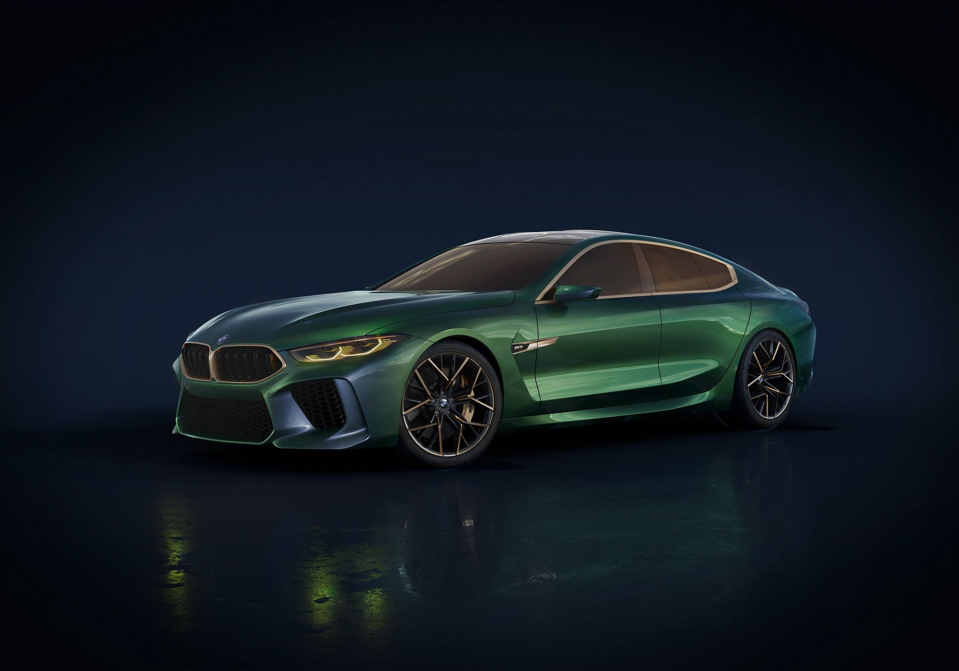 Bmw Concept M8 Gran Coupe Goes After Mercedes Amg Gt 4 Door Bmw