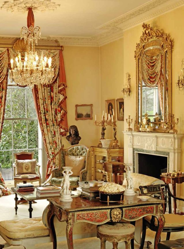 When French Mid 19th century furniture meets Regency style splendour in London.