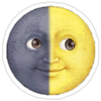 Sun And Moon Emoji From Redbubble Things I Want As Gifts Smajliki Idei Dlya Foto