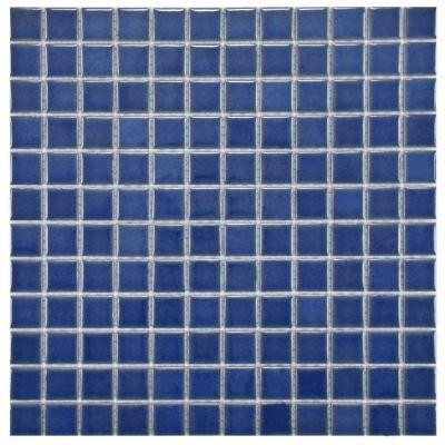 Lagoon Square Baltic 11 3 4 In X 11 3 4 In X 6 Mm Porcelain Mosaic Floor And Wall Tile 7 95 Sq Ft Cubiertos En La Mesa Fuente Cascada Cascadas
