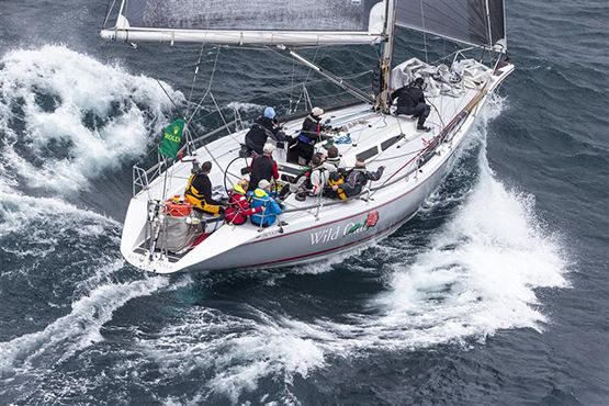 Roger Hickman's 28 year old Farr 43 Wild Rose (ex-Wild Oats) is defending champion in this year's Rolex Sydney-Hobart race