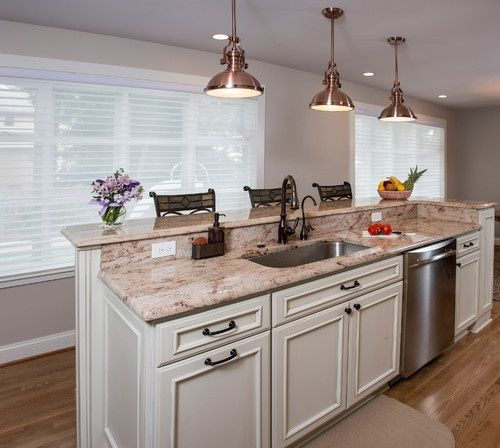 Kitchen Island Narrow: Image Result For Kitchen Island With Sink And Dishwasher