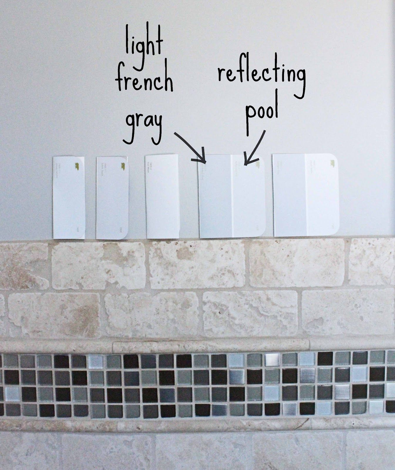 Gallery for behr reflecting pool bathroom paint colors for Best behr gray paint