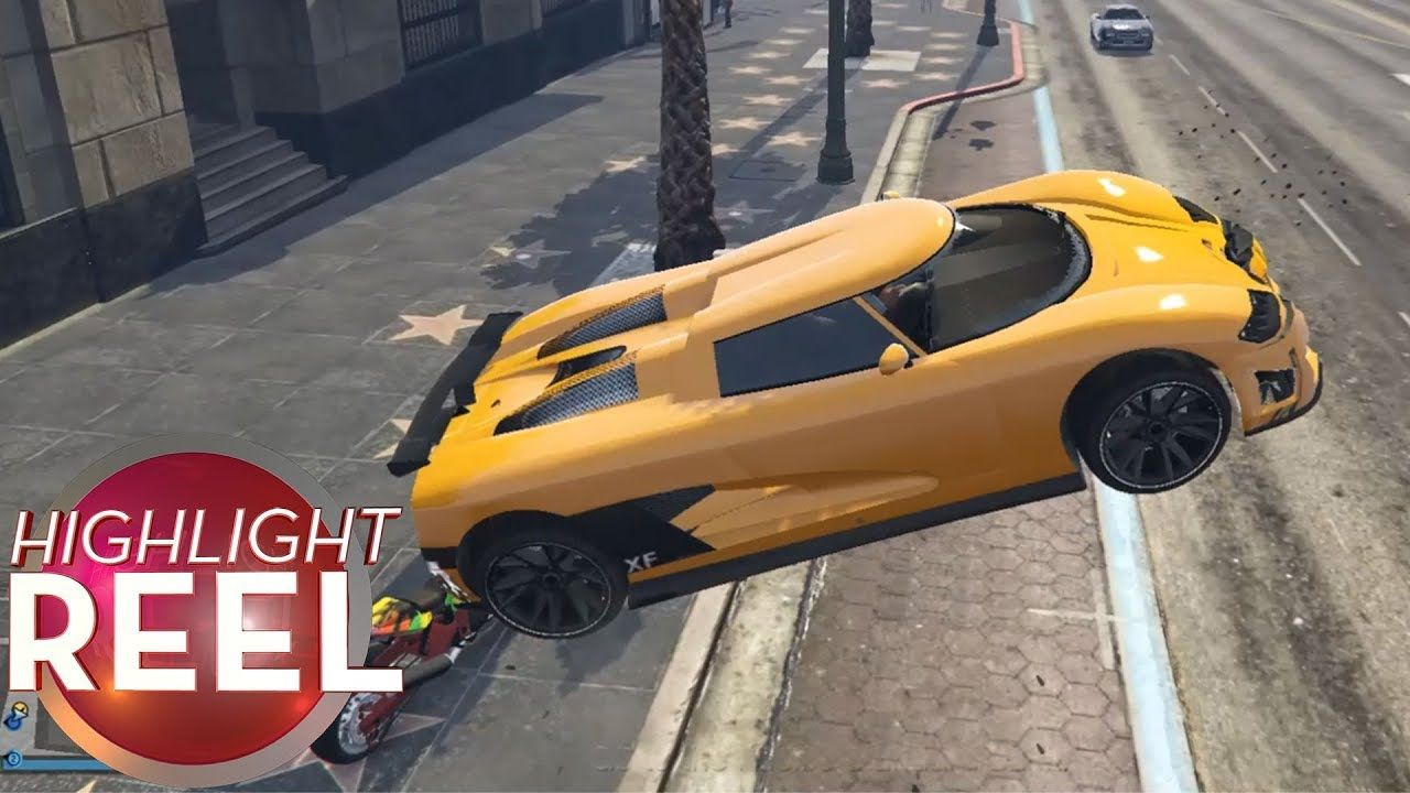 Highlight Reel 424 GTA Car Has Great Air Brakes