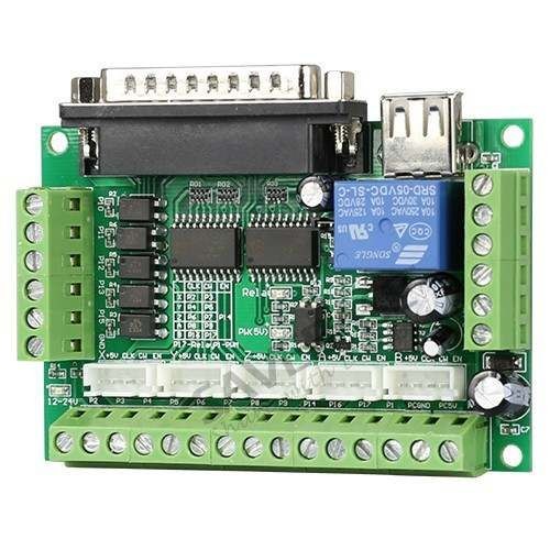 1.26 Nm Nema23 Stepper Motor CNC Router Kit 3 Axis M335 Motor Driver 0.5A-3.5A