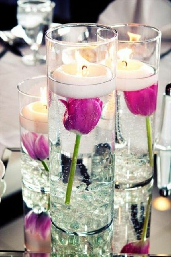 Table Decorations Ideas 36 great ideas for table decorations with tulips! | decor10 | tip