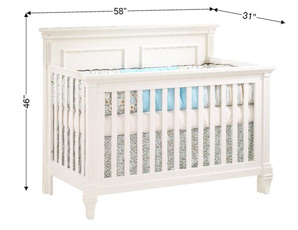 baby crib dimensions Google Search Convertible crib