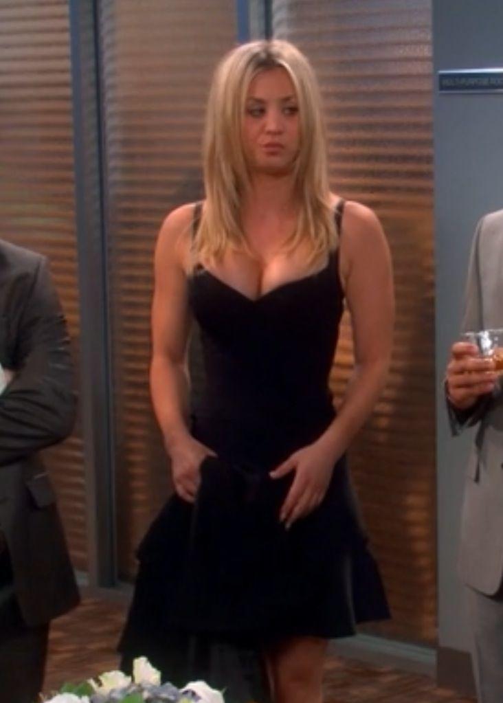 Penny S Guess Celeste Bandage Dress The Big Bang Theory Season 6 Episode 20 The Tenure