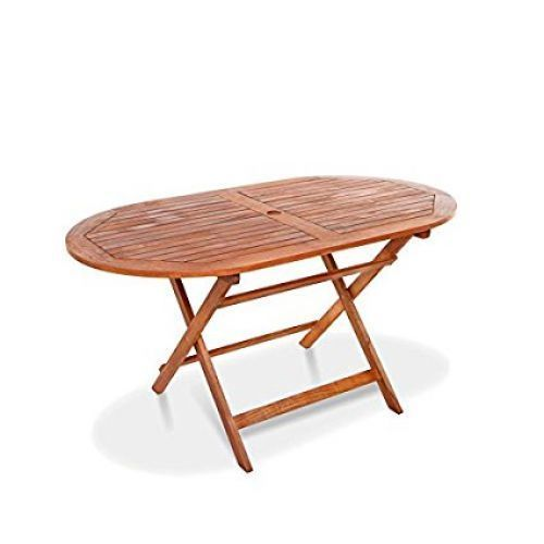 oval wooden garden table folding hardwood billyoh windsor patio