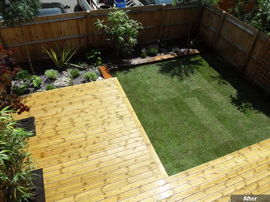 decked gardens - Google Search | Garden ideas | Pinterest | Garden ...