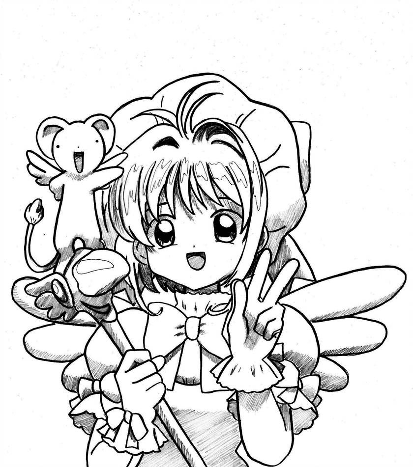 Happy Birthday By Flxrence Sakura Tattoo Sakura Card Cute Coloring Pages