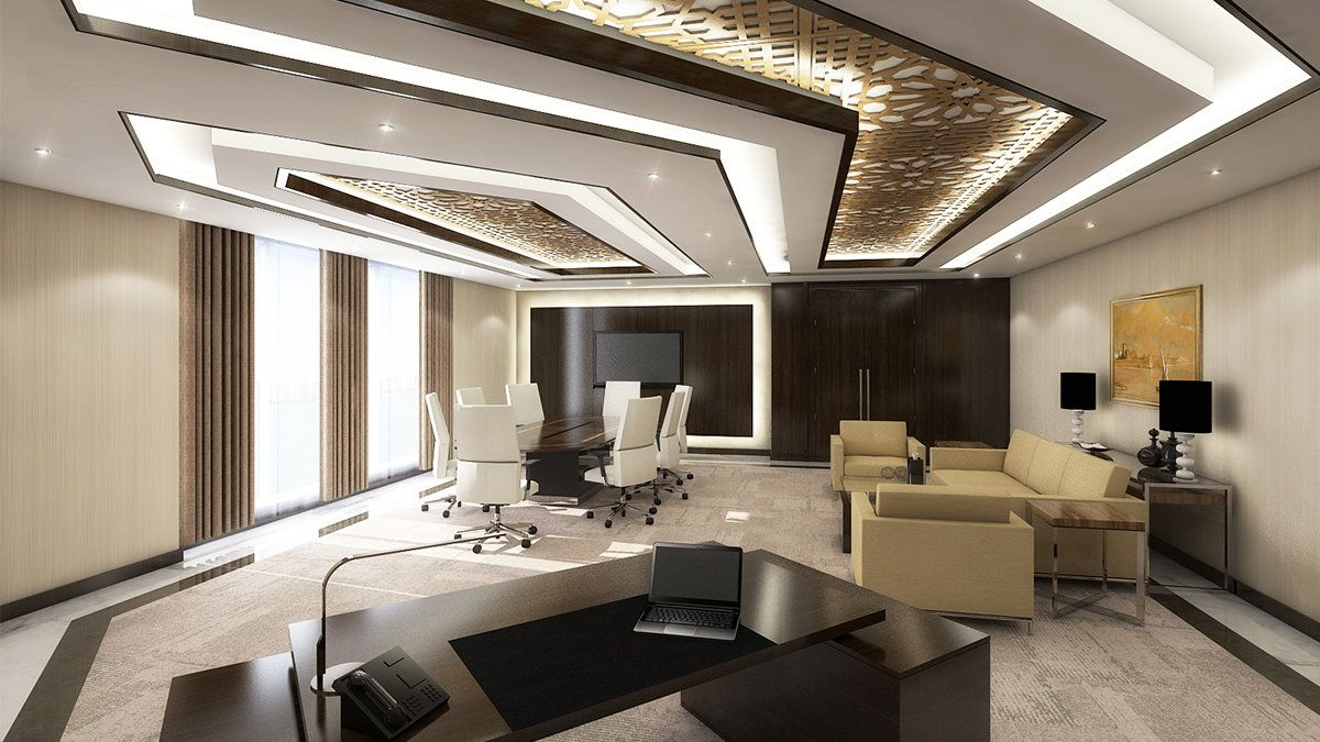Image result for luxury ceo office | Office in 2019 | Living ...