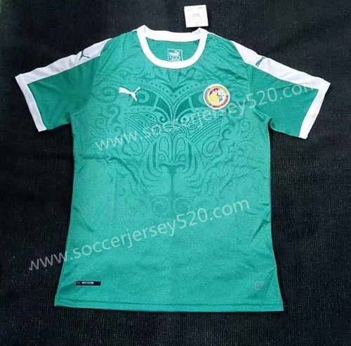 e61a44473 2018 World Cup Senegal Home Green Thailand Soccer Jersey AAA ...